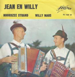 jean en willy - noordzee strand & willy mars