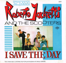 roberto jacketti and the  scooters - i saved the day maxi single 45 rpm