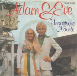adam & eve -ungarische nächten & adler und taube
