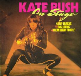 kate bush - on stage 4 live tracks 45 rpm maxi single