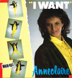anneclaire - i want - 12 inch maxi singel