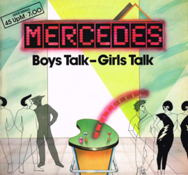 mercedes - boys talk - girls talk (maxi singel)