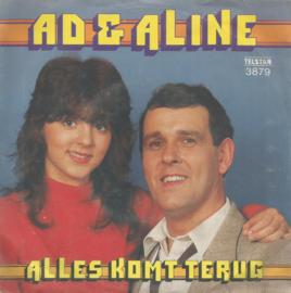 ad & aline - alles komt terug & alles kommt zurúck