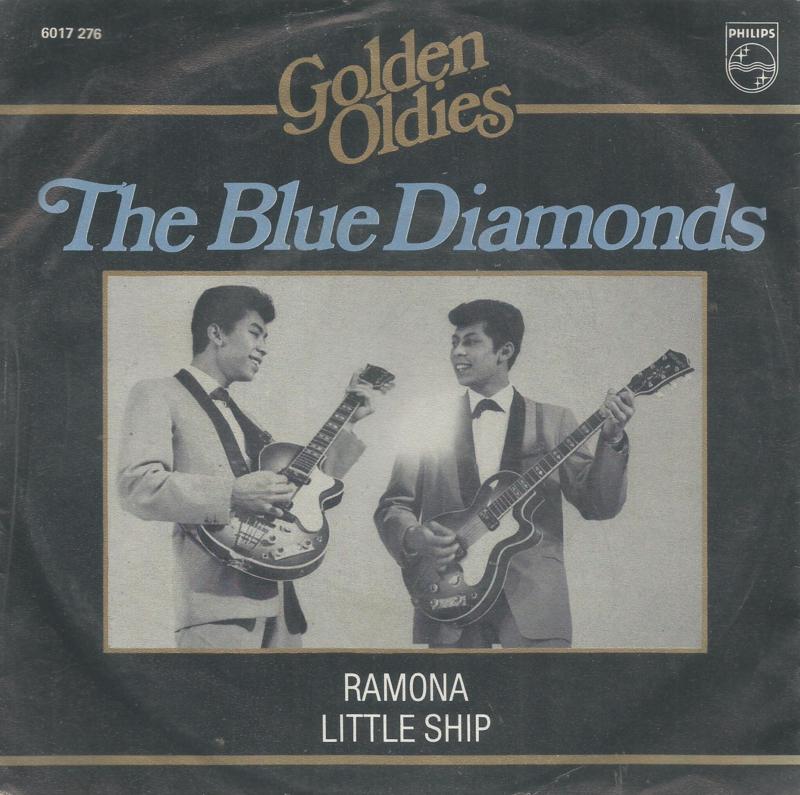 the blue diamonds - ramona & little ship