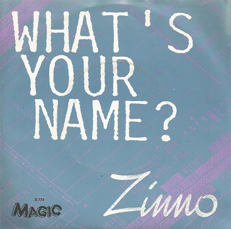zinno - what 's your name &  instumental version