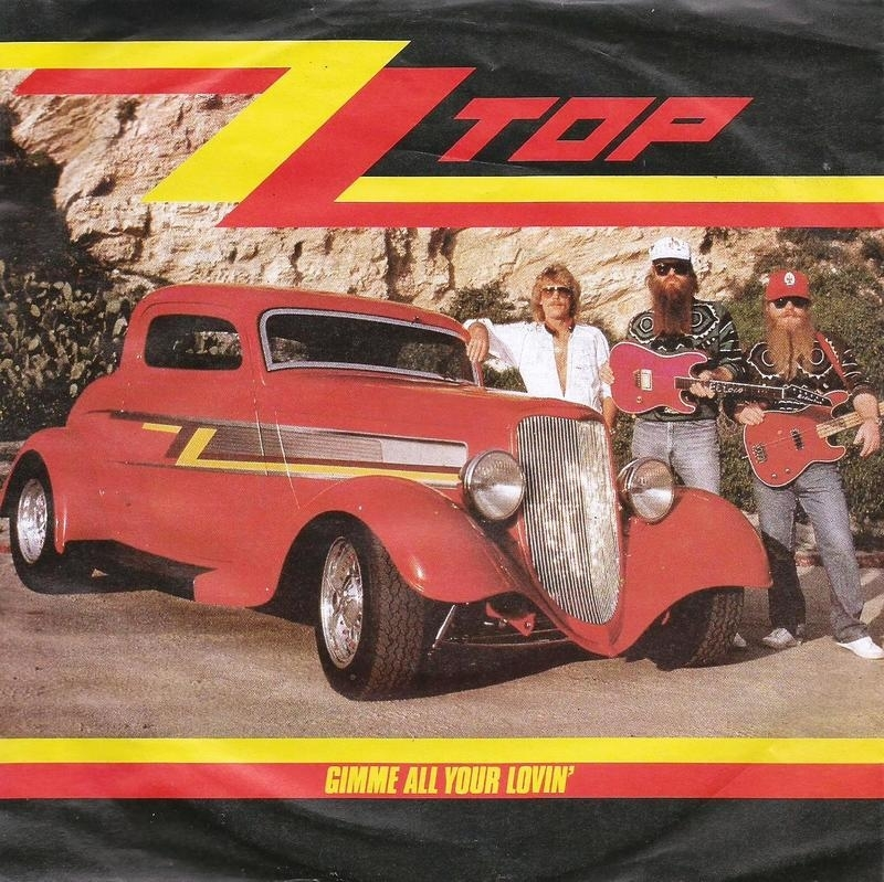 zz top - gimme all your lovin & if i could ony flag her down