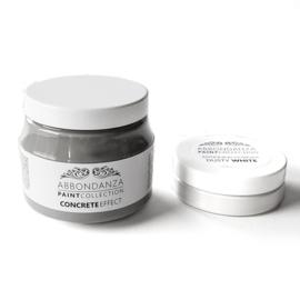 Abbondanza Concrete Effect betonlook verf en Antiquing Powder Dusty White