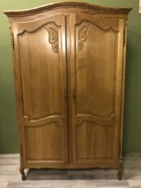 kledingkast met 2 deuren schilderen