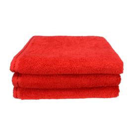 Rode handdoek 50 bij 100 cm