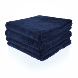 Donker blauw badlaken 70 bij 140 cm