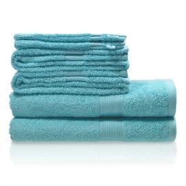 600 grams handdoek lente blauw/groen