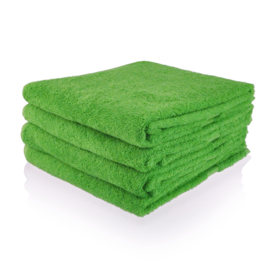 Appelgroen handdoek 50 bij 100 cm