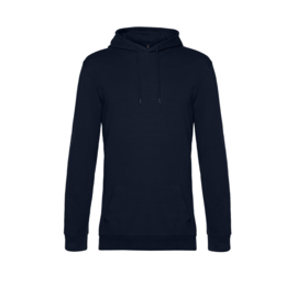 B&C navy french terry, maat 4xl