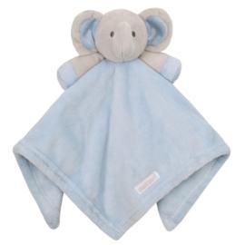 Blauwe olifantenfluf
