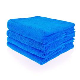 Kobalt blauwe handdoek 50 bij 100 cm