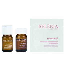 SELENIA DIAMANT   EXFOLIATING LIGHTENING BRIGHT LUXURY BOX