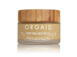 ORGAID ORGANIC | PURIFYING FACE POLISH HONEY CRYSTAL & BROWN RICE