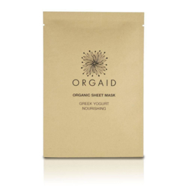 ORGAID ORGANIC | SHEET MASK GREEK YOGURT & NOURISHING