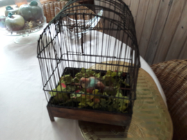 Antieke vogelkooi