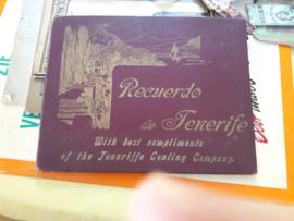 Antiek boek over Tenerife