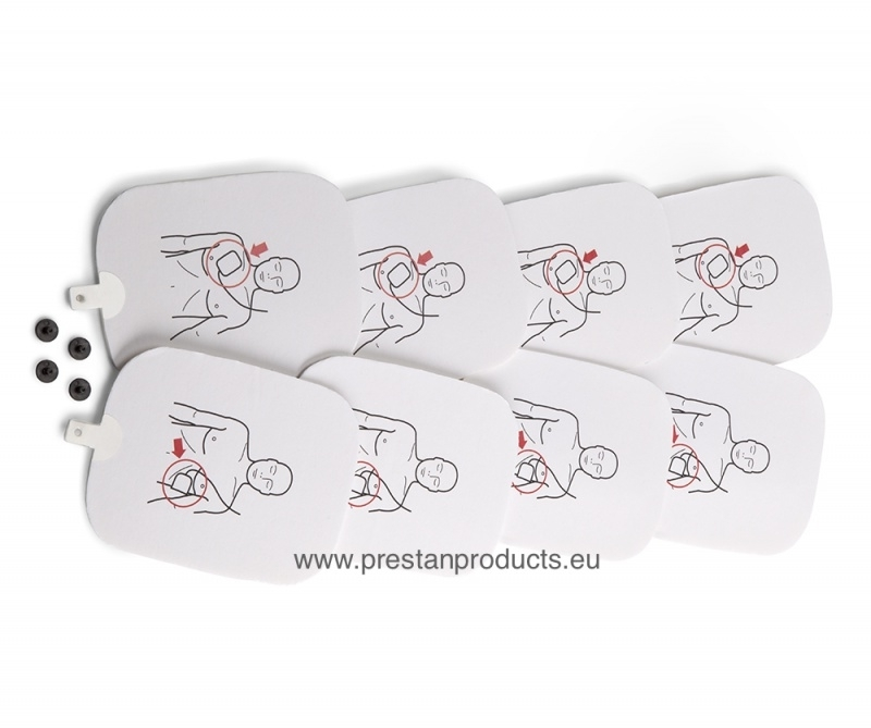 Prestan AED Training Pads 4-pack