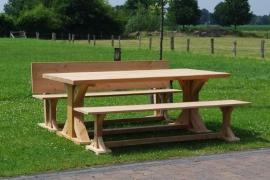 Douglas tuinset landelijke tafel (compleet set)