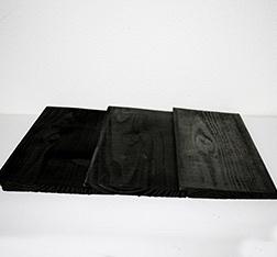 Douglas Zweeds rabbat 14/28x175, zwart gedompeld