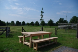 Douglas tuinset boerentafel (Compleet set)