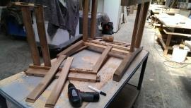 herstellen meubels
