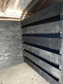 Standaard schuttingdelen horizontale planken