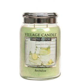 Village Candle Revitalize Spa Large Jar