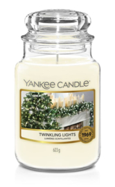 Yankee Candle Twinkling Lights Large Jar