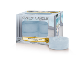 Yankee Candle A Calm & Quiet Place  Tealights