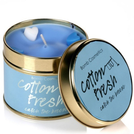 Tinned Candle Cotton Fresh