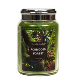 Forbidden Forest Fantasy Large Jar