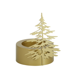 Winter Tree Tealight  small