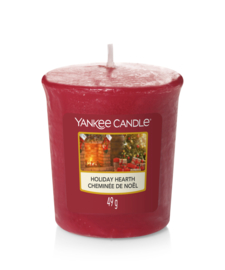 Holiday Hearth Votive