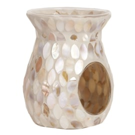 Mother of the Pearl Mosaic Crackle Melt Warmer