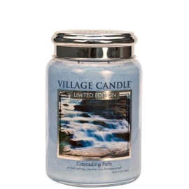 Village Candle Cascading Falls Large Jar