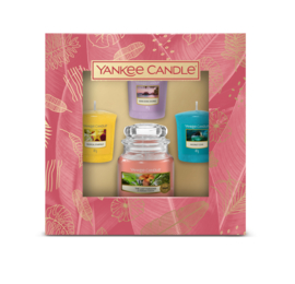 The Last Paradise 3 votives & 1 small jar Giftset