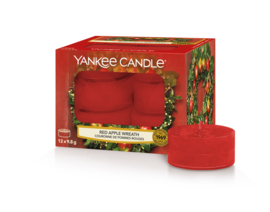 Yankee Candle Red Apple Wreath Tealights