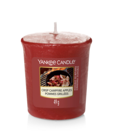 Crisp Campfire Apples Votive