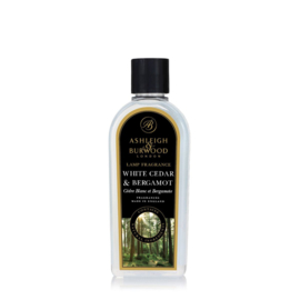 Ashleigh & Burwood Lamp Fragrance 500ml White Cedar & Bergamot