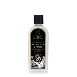 Ashleigh & Burwood Lamp Fragrance 500ml Volcanic Clay & Amber