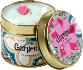 Tinned Candle Gorgeous