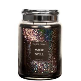 Village Candle Magic Spell Large Jar