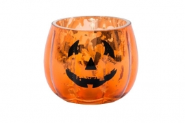 Halloween Pumpkin Votive Holder