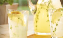 Homemade Herb Lemonade