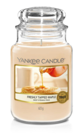 Yankee Candle Freshly Tapped Maple Large Jar