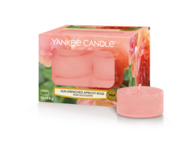 Yankee Candle Sun-Drenched Apricot Rose Tealights